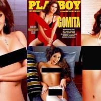 ¡OMG!: Filtran las fotos de Gomita totalmente desnuda para una revista para caballeros