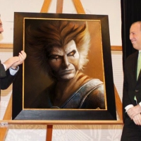 """Presentan polémico """"retrato oficial"""" de Meade que tuvo un costo de $600 mil pesos"""